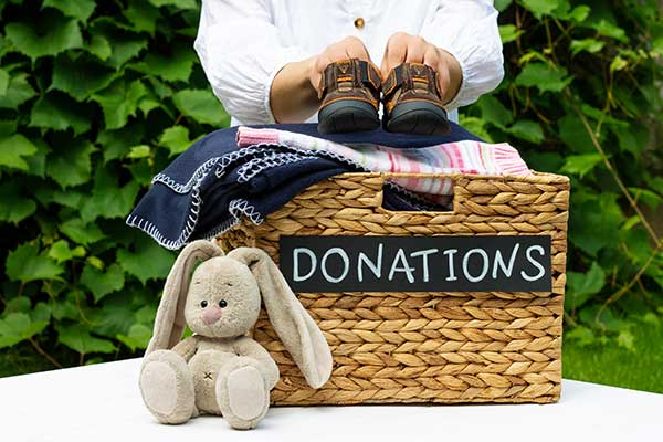 Donate Clothes For Charity